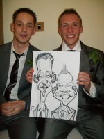 Corporate Caricatures Leeds